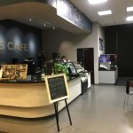 The mini-cafe that replaced the traditional cafeteria.