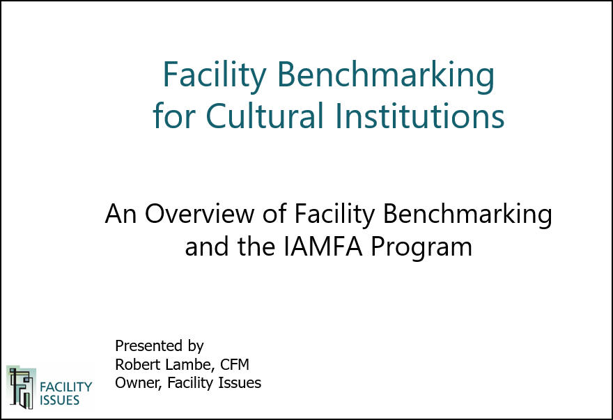 Download overview of IAMFA Benchmaking Program