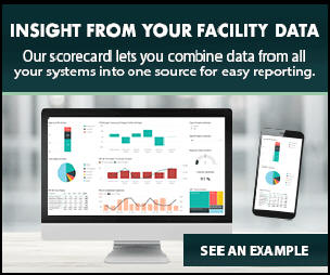 Insight from your facility data with a scorecard by Facility Issues